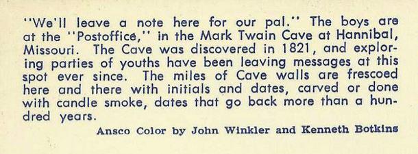 PO Mark Twain Cave 1